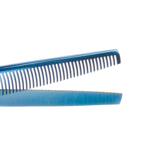 "Geib Kiss Gold/Blue 6.5"" 42 Tooth Thinner"