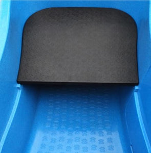 Big blue tub  small dog platform
