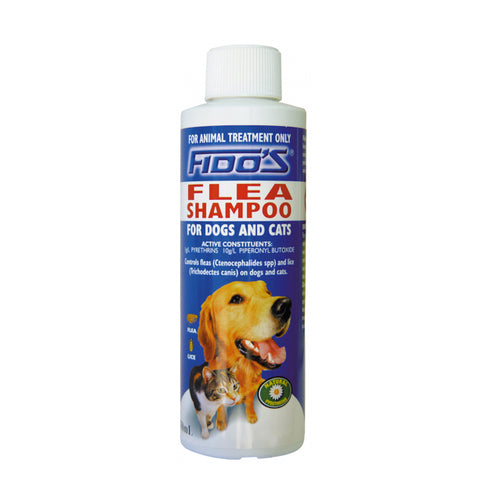 Fidos Flea Shampoo For Cats And Dogs 250ml