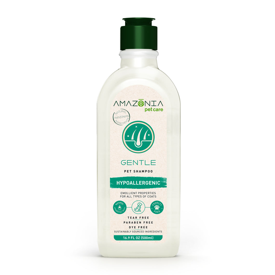 Amazonia Gentle Hypoallergenic Pet Shampoo - 500ml