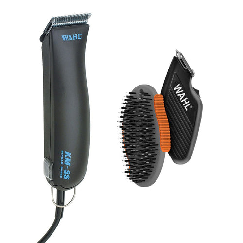 BONUS Wahl KMSS Clipper with Starter Kit + FREE Trimmer and Brush