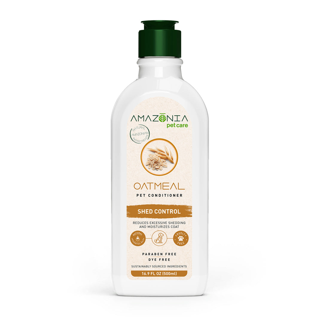 NEW Amazonia Oatmeal DeShed Conditioner - 500ml