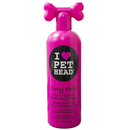 Pet Head Dirty Talk Shampoo 475ml - Orange