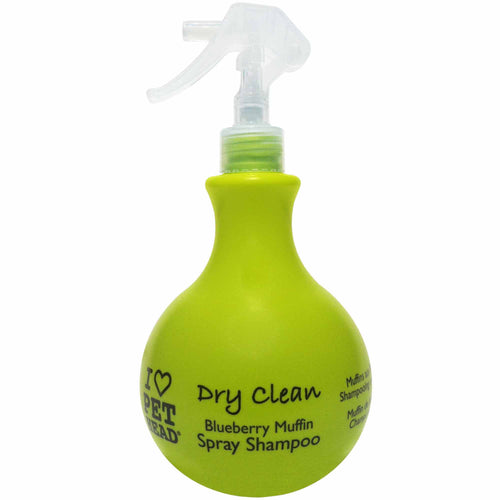 Pet Head Dry Clean Waterless Spray Shampoo 450ml - Blueberry Muffin