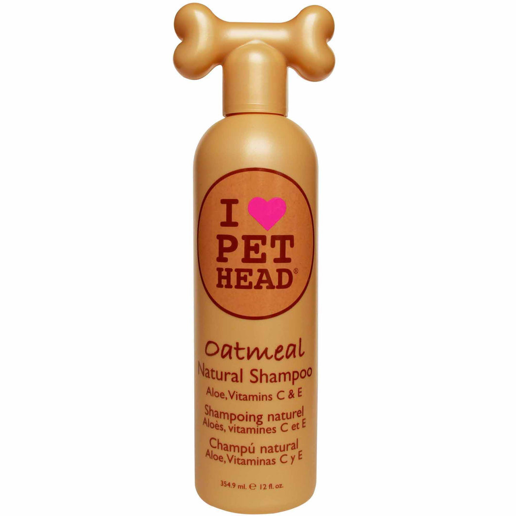 Pet Head Natural Oatmeal Shampoo 354ml - Caramel