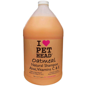 Pet Head Oatmeal Shampoo 3.8L Caramel