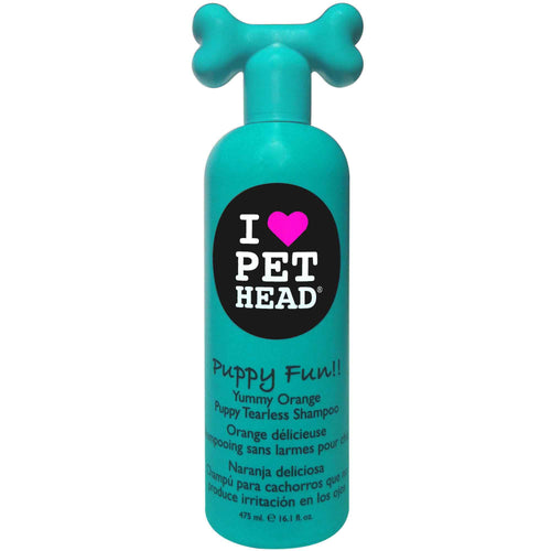 Pet Head Puppy Fun Tearless Shampoo 475ml - Orange