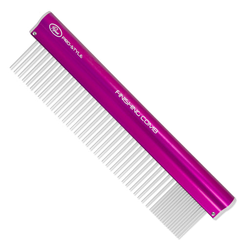 Resco® Pro-Style Finishing Comb Coarse/Fine - Electric Pink