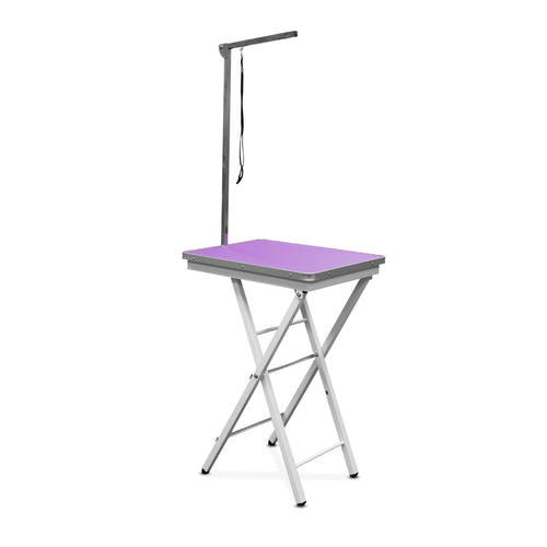 Beaumont Foldable Adjustable Table 60cm PURPLE