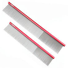 "Load image into Gallery viewer, Shernbao Butter Combs 7"" and 9"" Combs in Red"