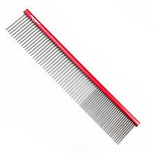 "Load image into Gallery viewer, Shernbao Butter Comb 7"" 19cm Red"