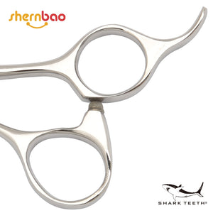 "Shernbao Shark Teeth 3 Star 7.5"" Straight Scissors"