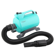 Load image into Gallery viewer, Shernbao Super Cyclone Single Motor Dryer with Heater - Turquoise