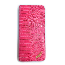 Load image into Gallery viewer, Shernbao Scissor Case - Alligator Candy Pink