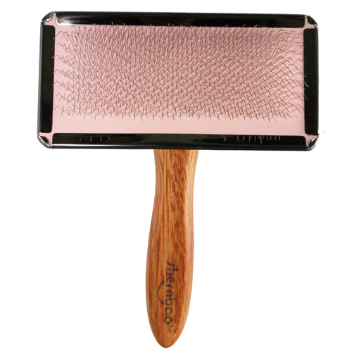 Shernbao Slicker Brush Large – Pink