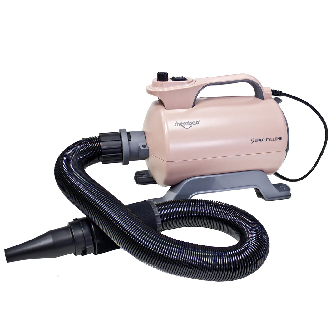 Shernbao Super Cyclone Single Motor Dryer with Heater - Dusky Rose