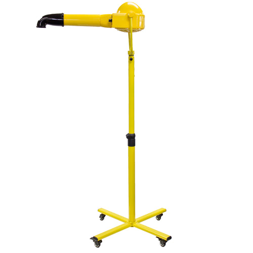 VORTEX ION Ionic Dryer with Heater + Stand YELLOW