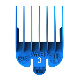 Blue size 3 comb 10mm 3/8""