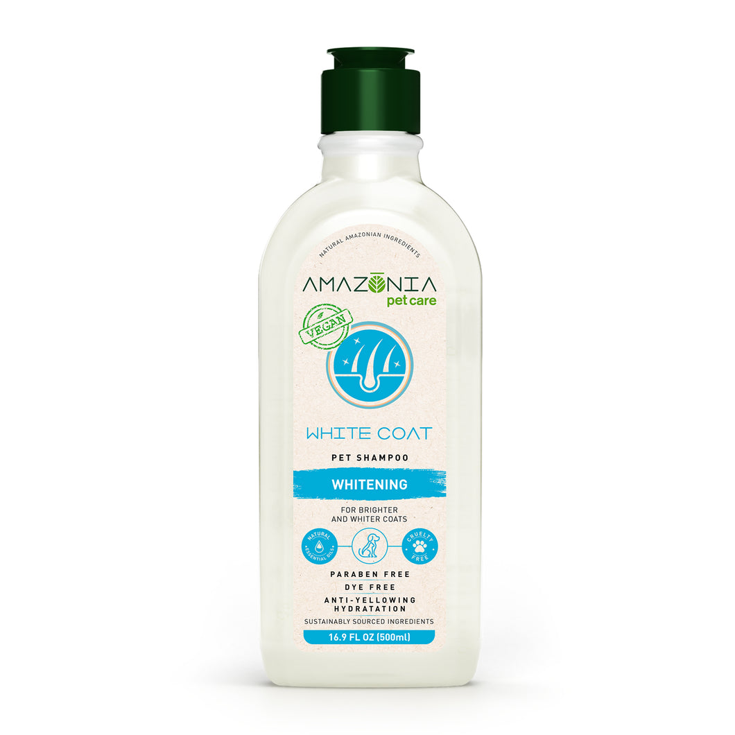 NEW Amazonia White Coat Shampoo - 500ml