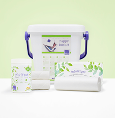 Range of cloth nappy laundry accessories