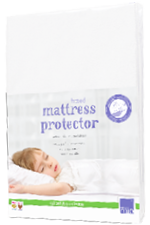 Toddler mattress protector part of mix and match