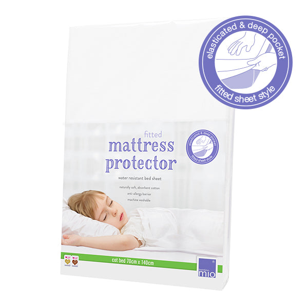 fitted mattress protector