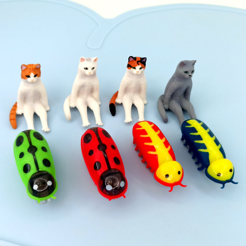 Buzzy Robot Bug Cat Toy