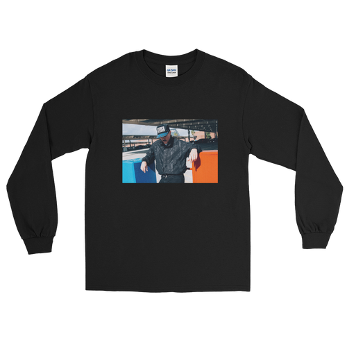 Sam Sparro Blue Black Red Longsleeve