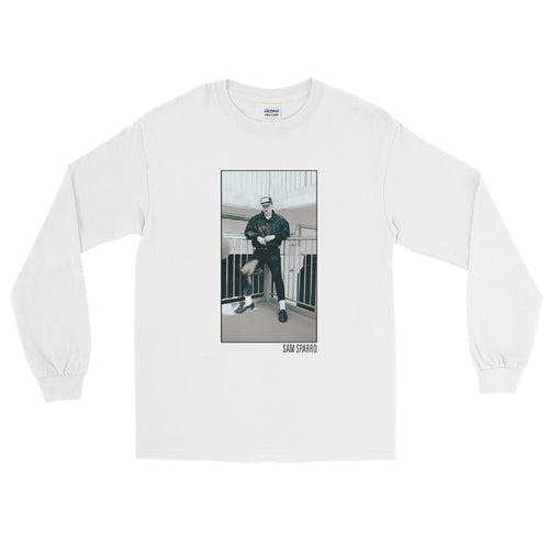 Sam Sparro White & Black Long Sleeve