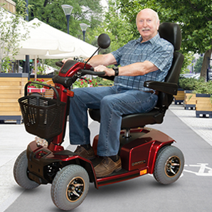 Ewheels mobility scooter