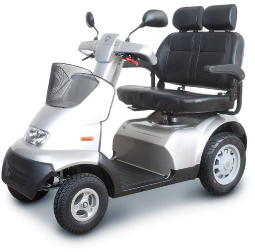 FTS4680 Afiscooter s 4 wheel mobility scooter Sliver
