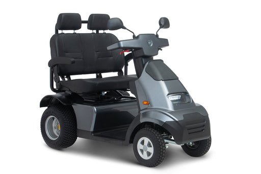 Afiscooter s4 Dual seat 4 wheel obility scooter dark grey
