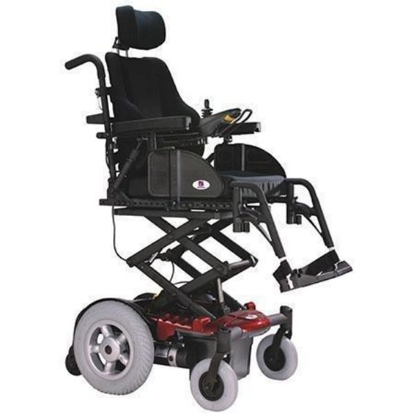 EV Rider Vision Electric Power Wheelchair with Elevating Seat - Heartway P13