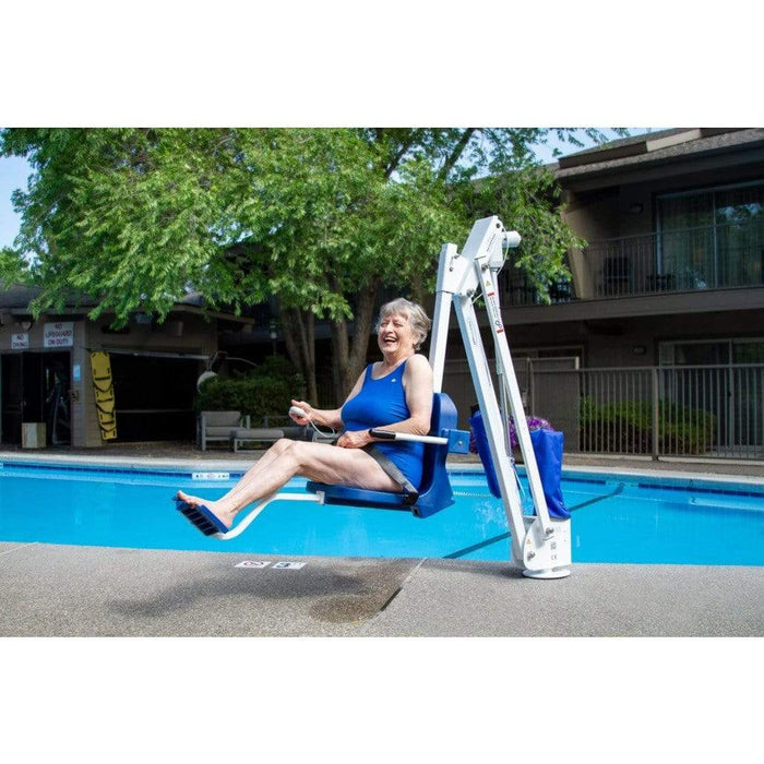 Aqua Creek Mighty 400 Stainless Steel No Anchor Pool Lift F-MTY400