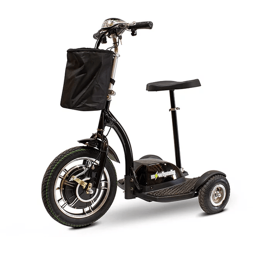 EW-18 EWheels 3-wheel mobility scooter black