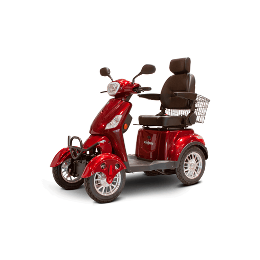 EW-46 EWheels 4-Wheel Mobility Scooter Red
