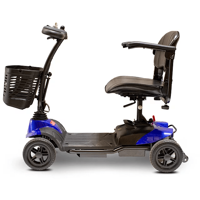 EW M35 EWheels 4 Wheel Mobility Scooter Blue