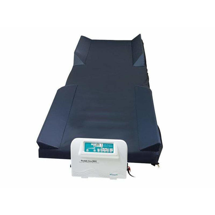 Proactive Medical Protekt Aire 9900RR Low Air Loss/Alternating Pulsation/Pressure Mattress System with Blower Pump & Raised Foam Side Rails 81090-54RR