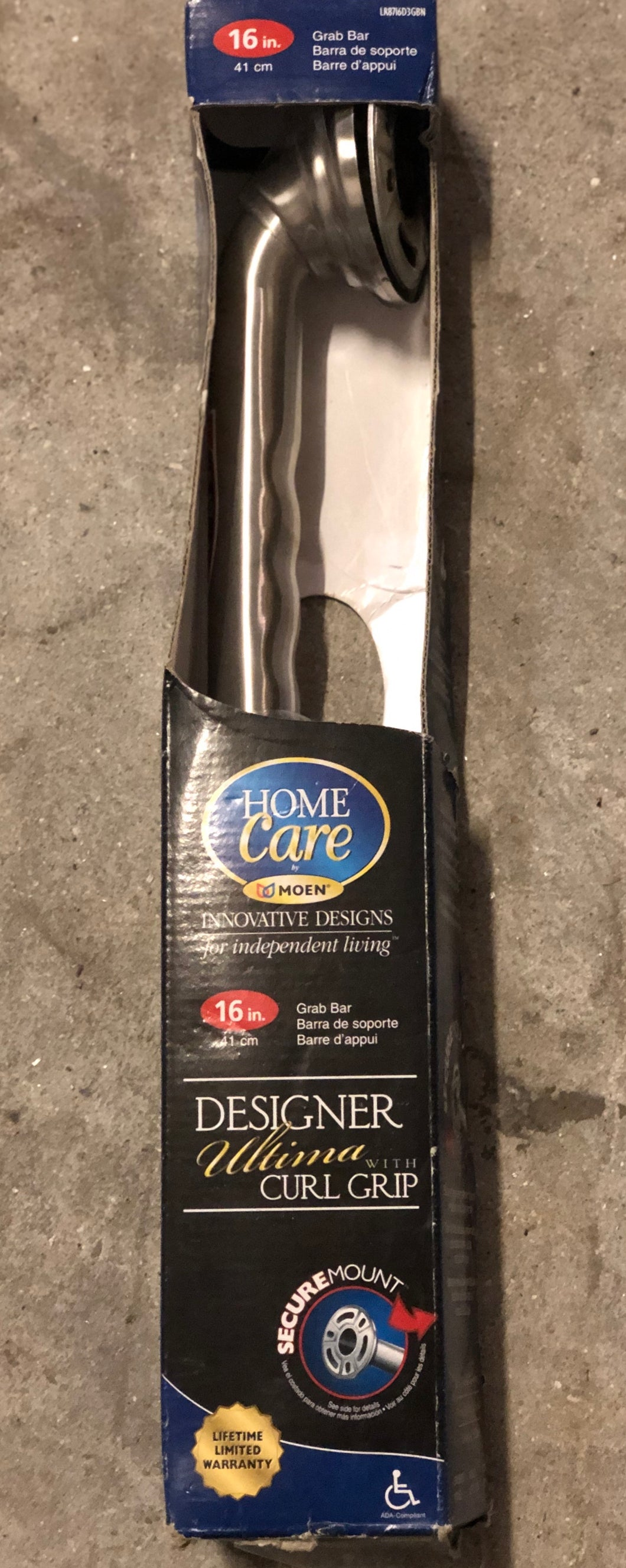 Homecare 16 inch 41 Cm Grab Bar