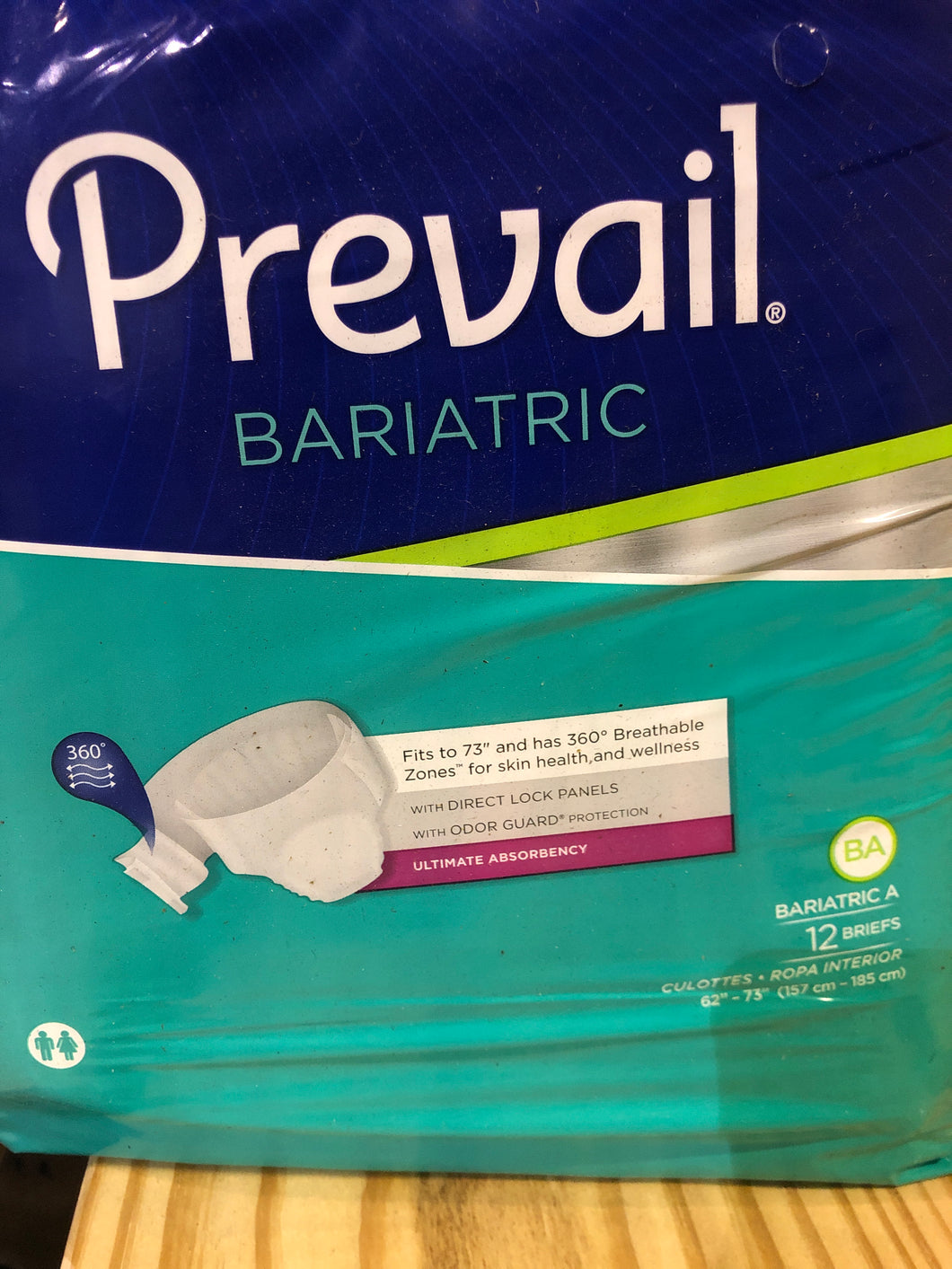 Prevail Bariatric Brief