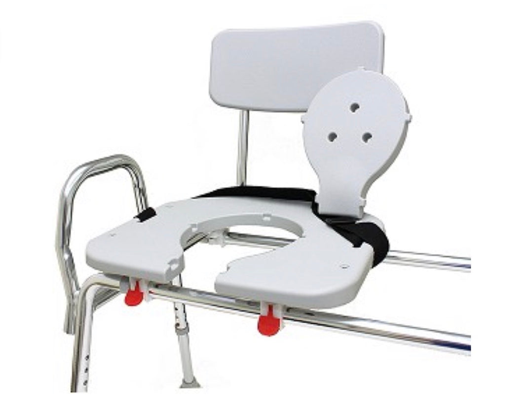 Eagle Sliding Transfer Bench with Cut-Out Seat