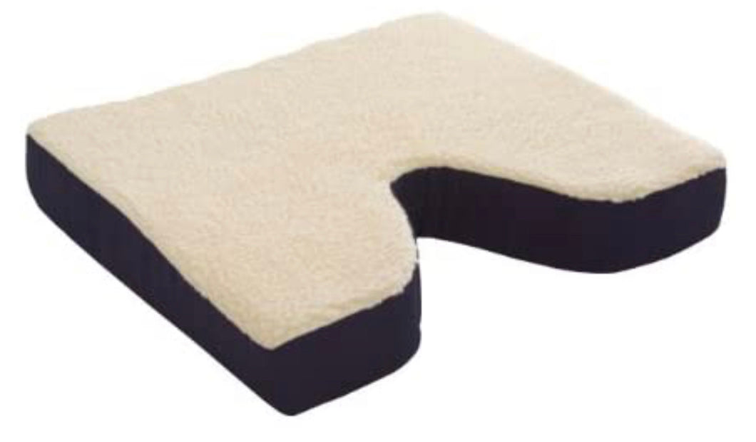 Fleece Covered 18x16x3 in Package Coccyx Gel Cushion