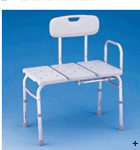 Guardian Bench, bath transfer un padded 300 lb