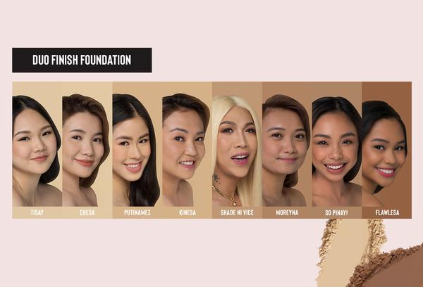 Viceco Duo Finish Foundation Flawlessa | Face
