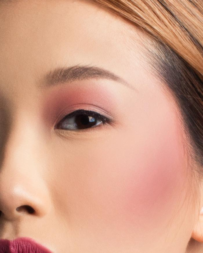 Viceco Aura Blush Applauded Dusty Pink Rose | Face