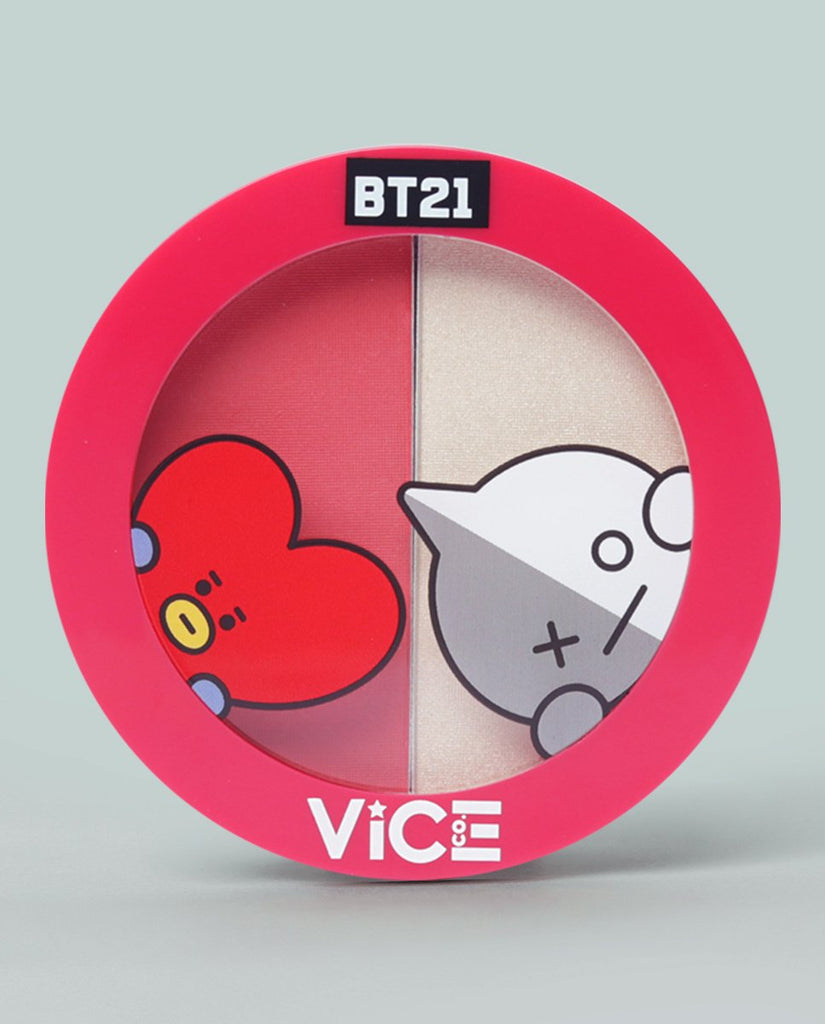 Vice Cosmetics USA BT21 Aura Duo Poppy Red (Planet BT)