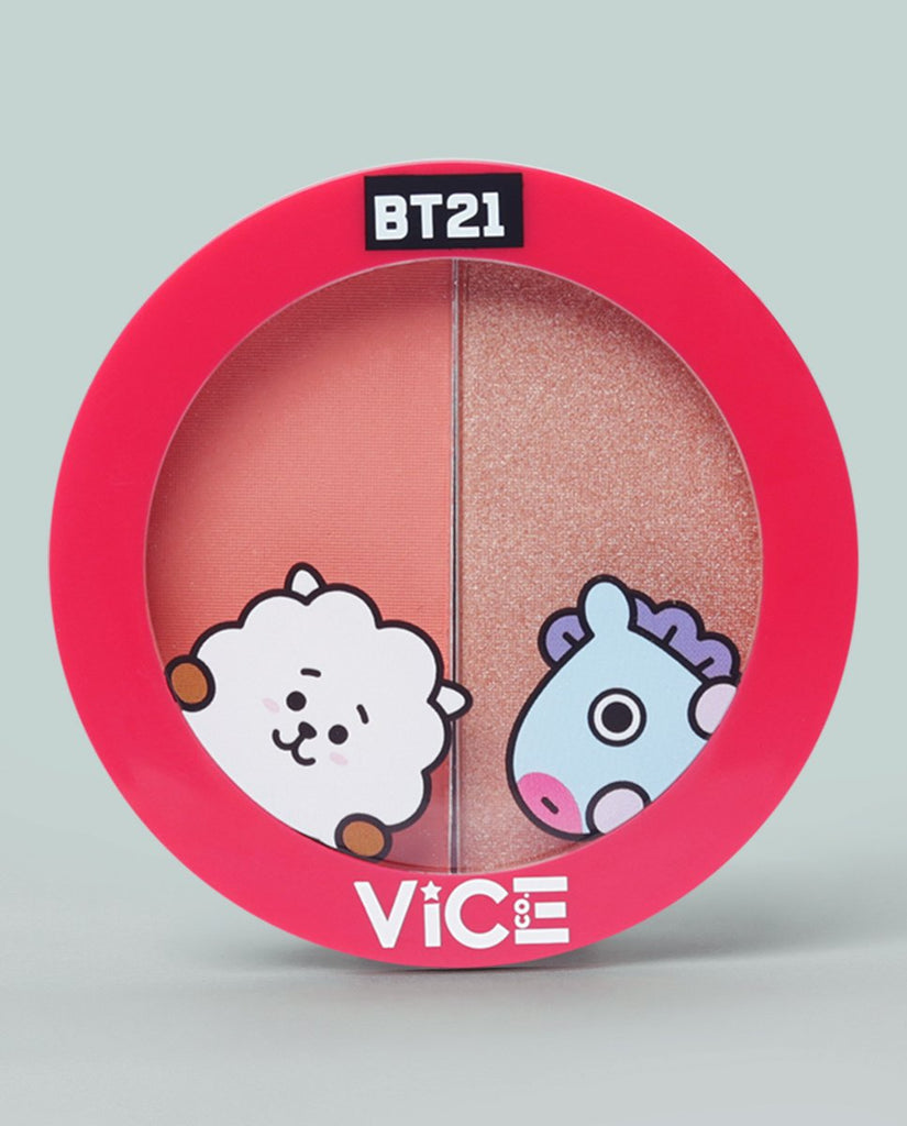 Vice Cosmetics USA BT21 Aura Duo Pretty Peach (Universtar)