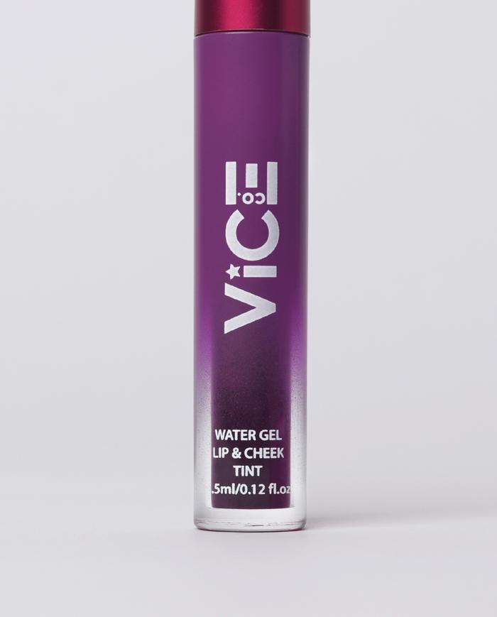 Viceco Water Gel Lip & Cheek Tint G na G  Purple Violet | Lips