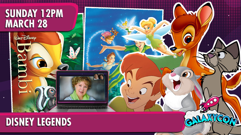Celebration of Disney Legends Virtual Experience: March 28th at 12pm ET