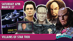 Villains of Star Trek Virtual Experience: March 27th at 6pm ET